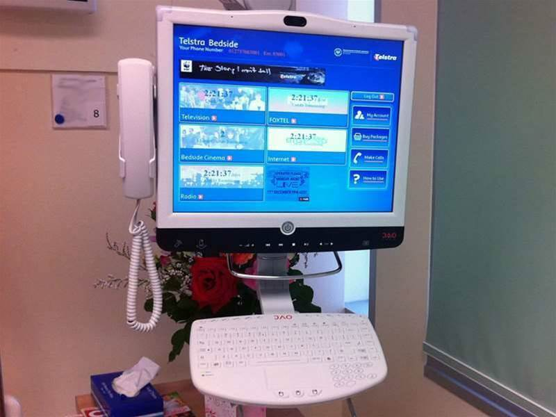 SA hospitals deploy touch-screen bedside units