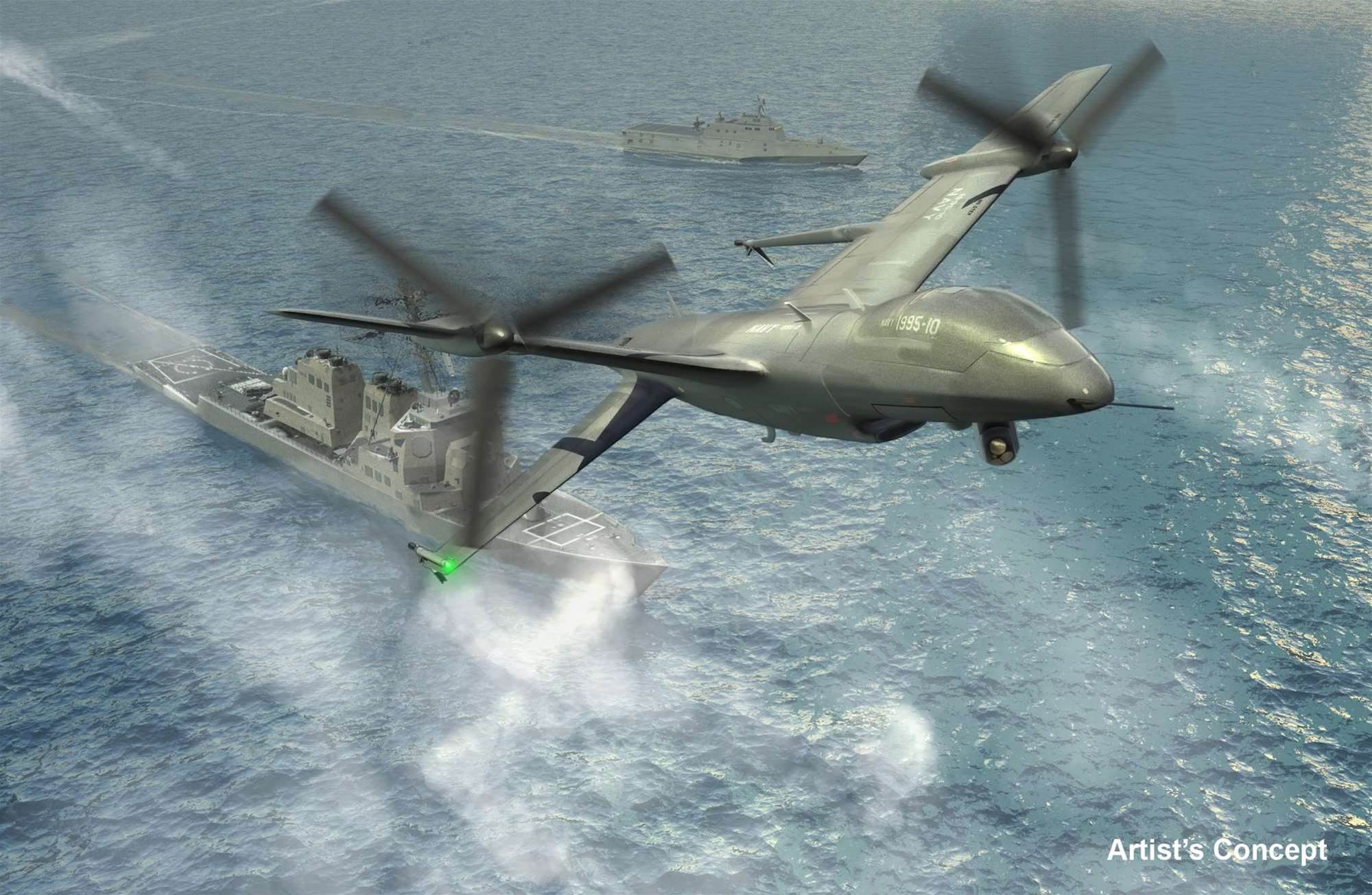 Navy's Long-Awaited Drone Moves Closer To Reality