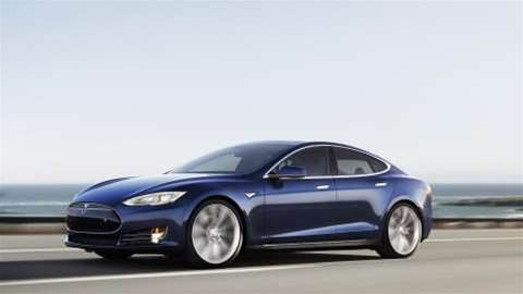 Tesla begins self-driving trial for the Model S