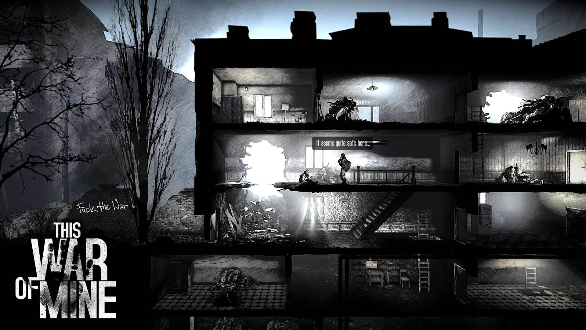 Discover the human cost of conflict in This War of Mine