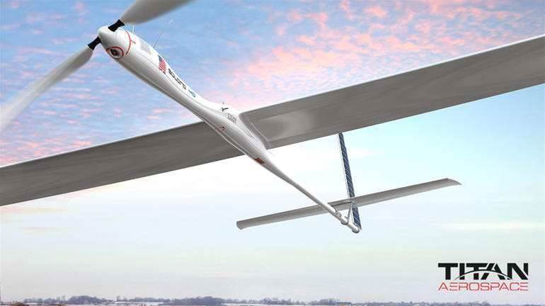 Google to buy drone maker Titan Aerospace