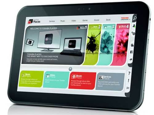 Toshiba AT300 tablet joins Tegra 3 club