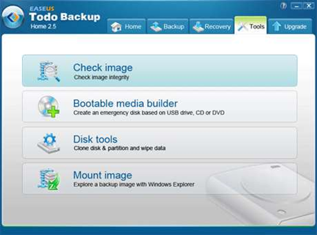 EASEUS Todo Backup Home updated: adds network support and image viewing