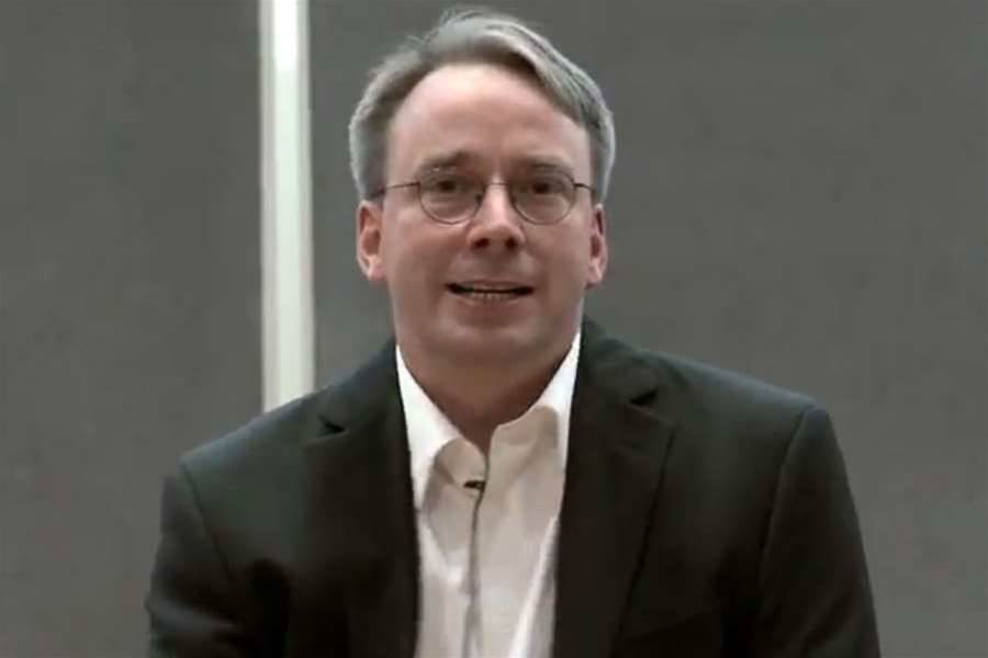 Torvalds fingers Nvidia over Linux support