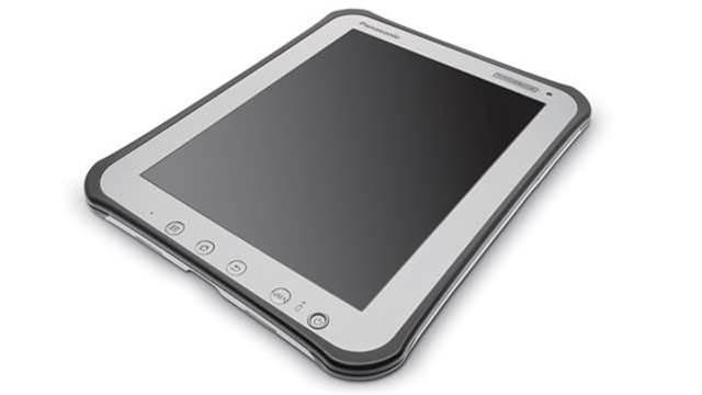 Panasonic unveils the world's toughest tablet