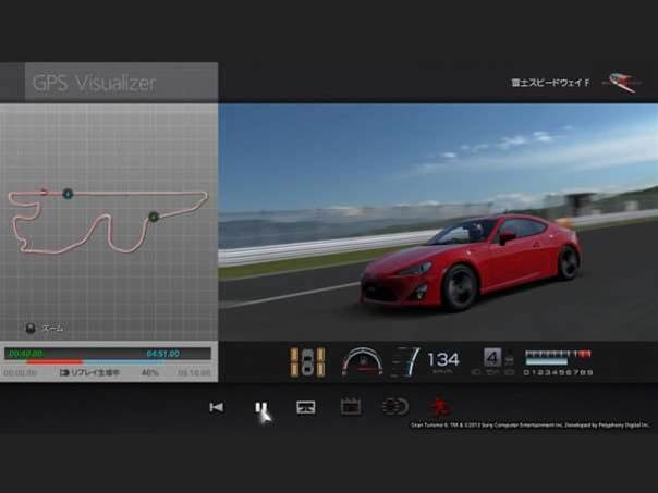 Gran Turismo 6 lets you race against real-world times