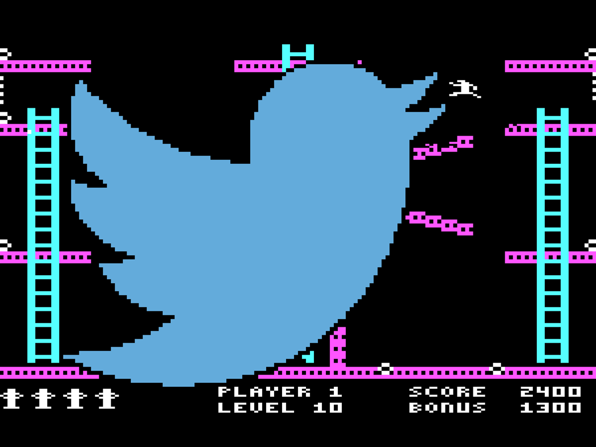 Send DOS games via Twitter and usher in the workpocalypse