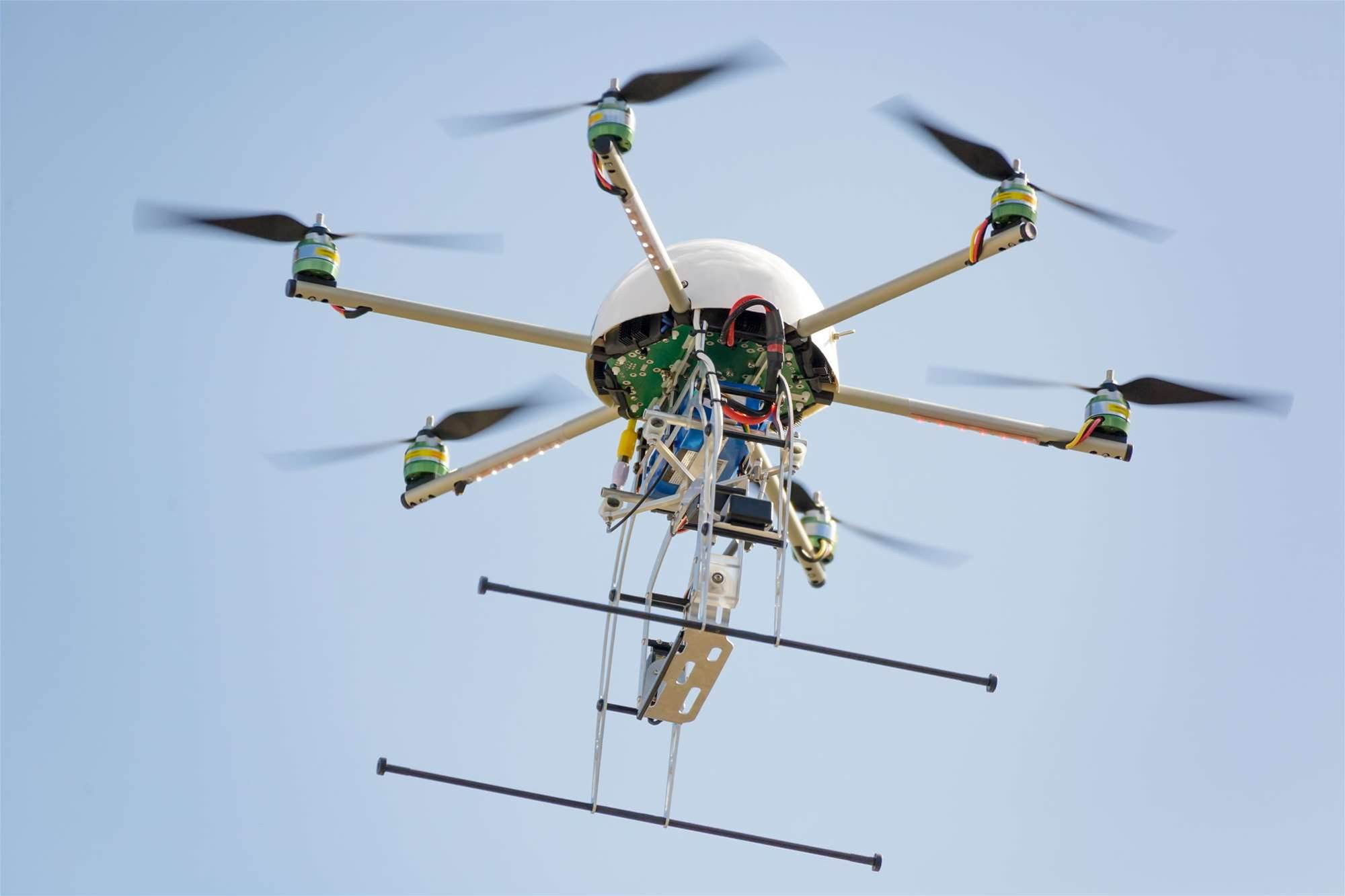 Queensland deploys drones to kill weeds