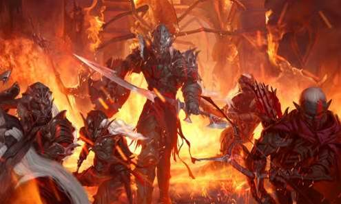 2012 - the year of the Dark Elf across all forms of DnD