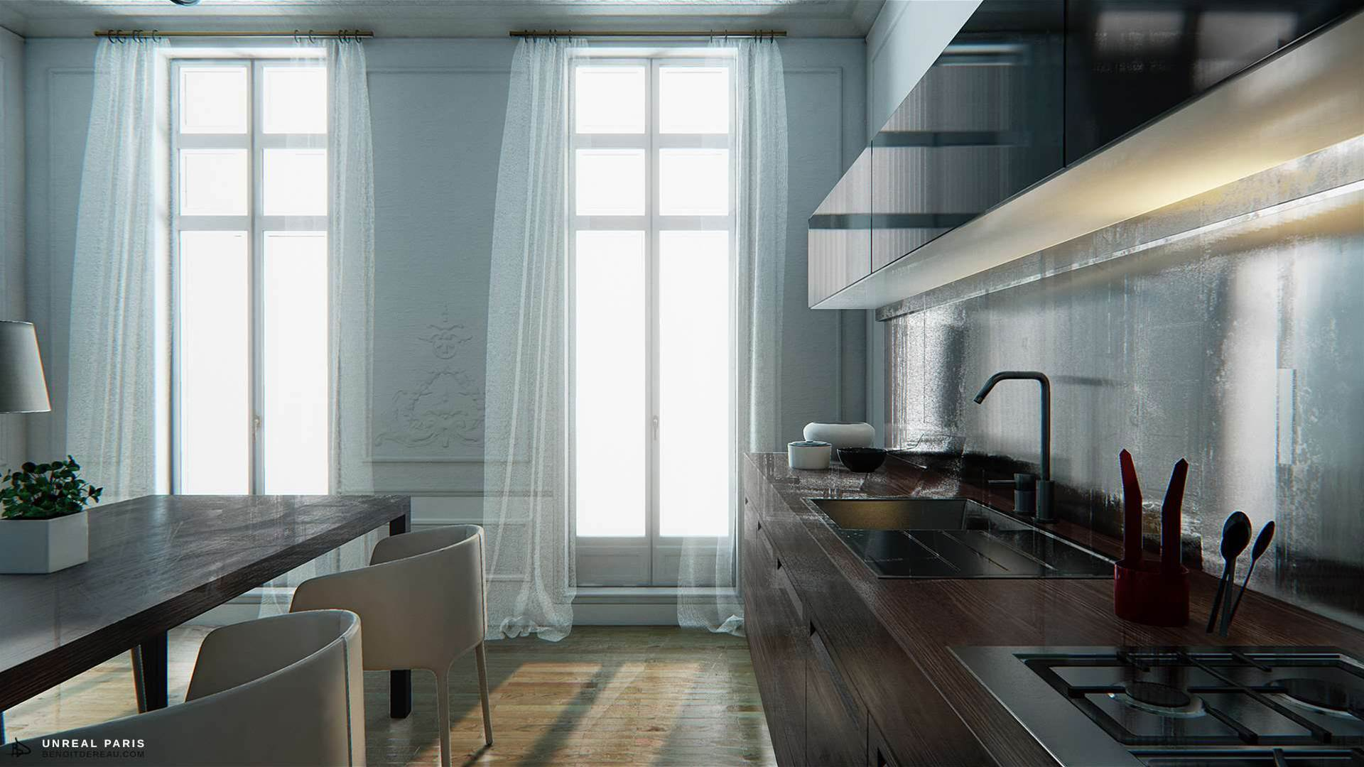 This 3D Render Of A Paris Apartment Looks Amazingly Real