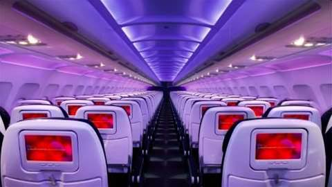 Virgin America's in-flight Wi-Fi is faster than your home connection