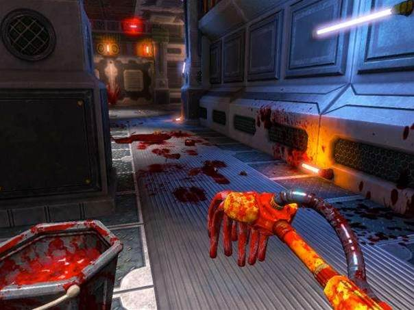 Viscera Cleanup Detail looks at what happens to gore-soaked levels after the hero has moved on...