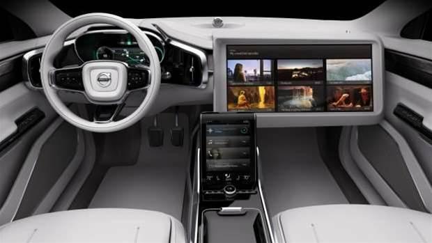 Volvo's Concept 26 is a glimpse into our self-driving future