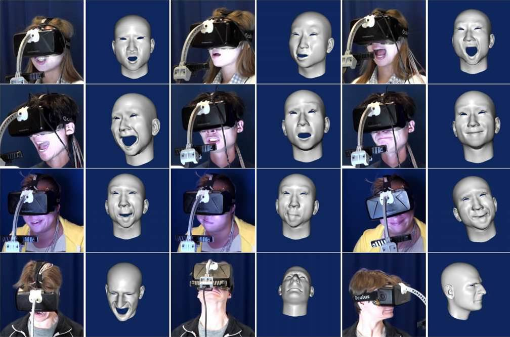 Sensors Capture The Faces You Make Inside Your VR Mask