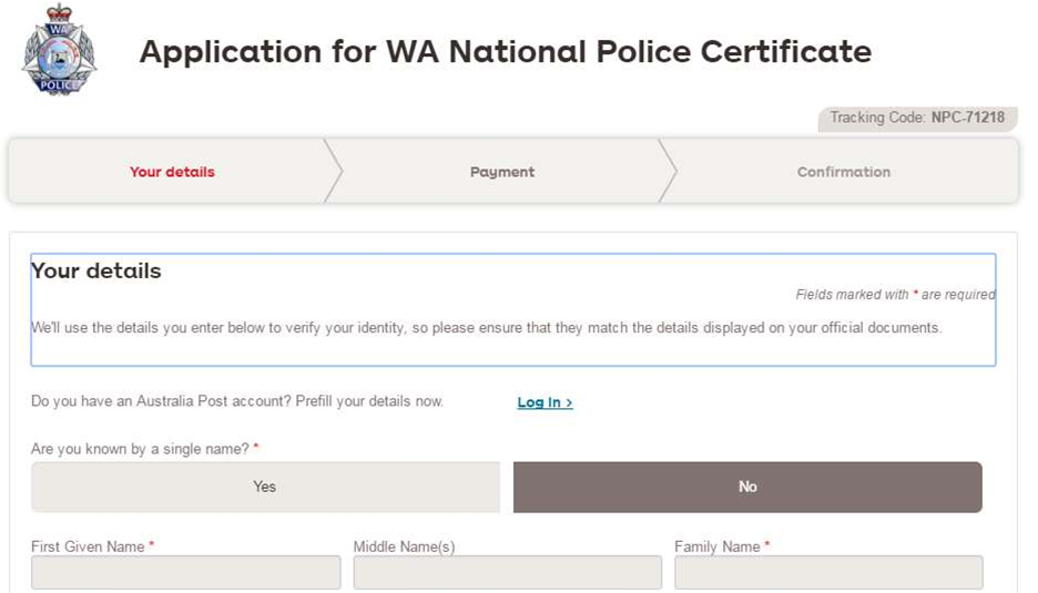AusPost deploys Australia's first online police check