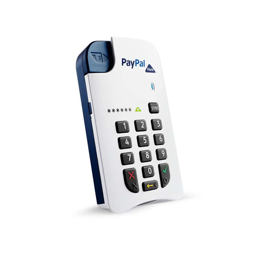 PayPal Here goes contactless