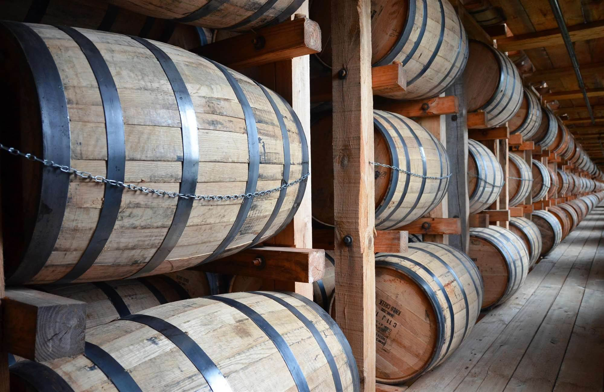 What Happens As Decades Pass In A Whiskey Barrel?