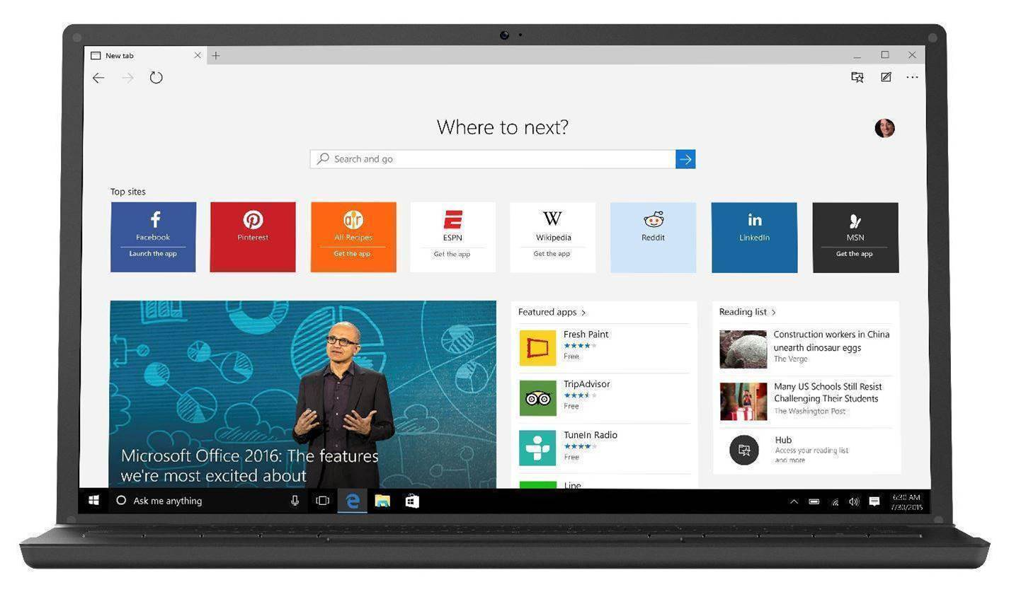 Windows 10 Edge security easily bypassed through protocols