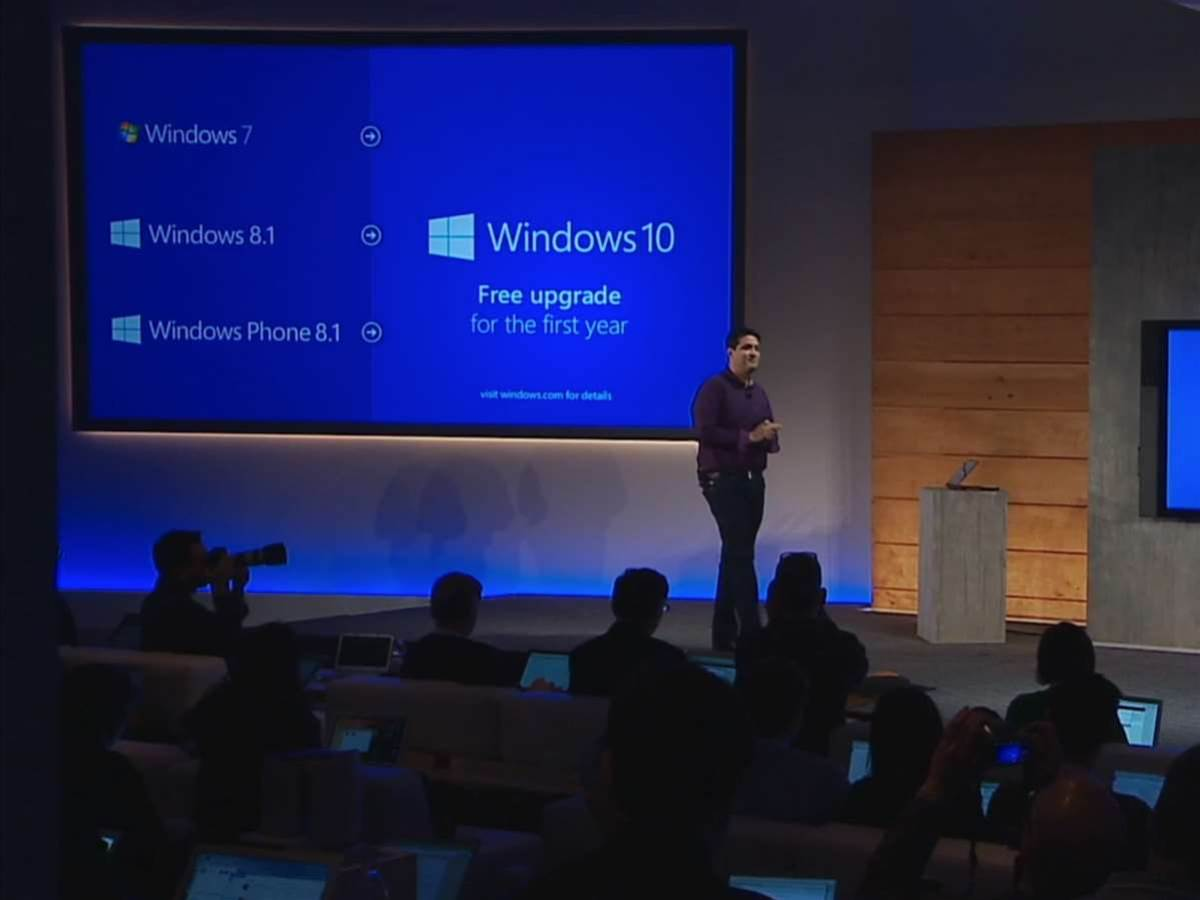 Windows 10 will be a free upgrade - even for Windows 7 users