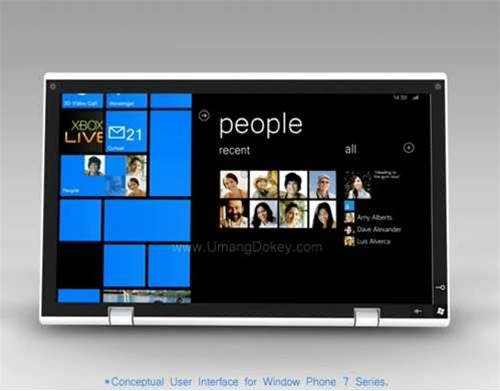 Microsoft rebuffs calls for Windows Phone 7 tablets