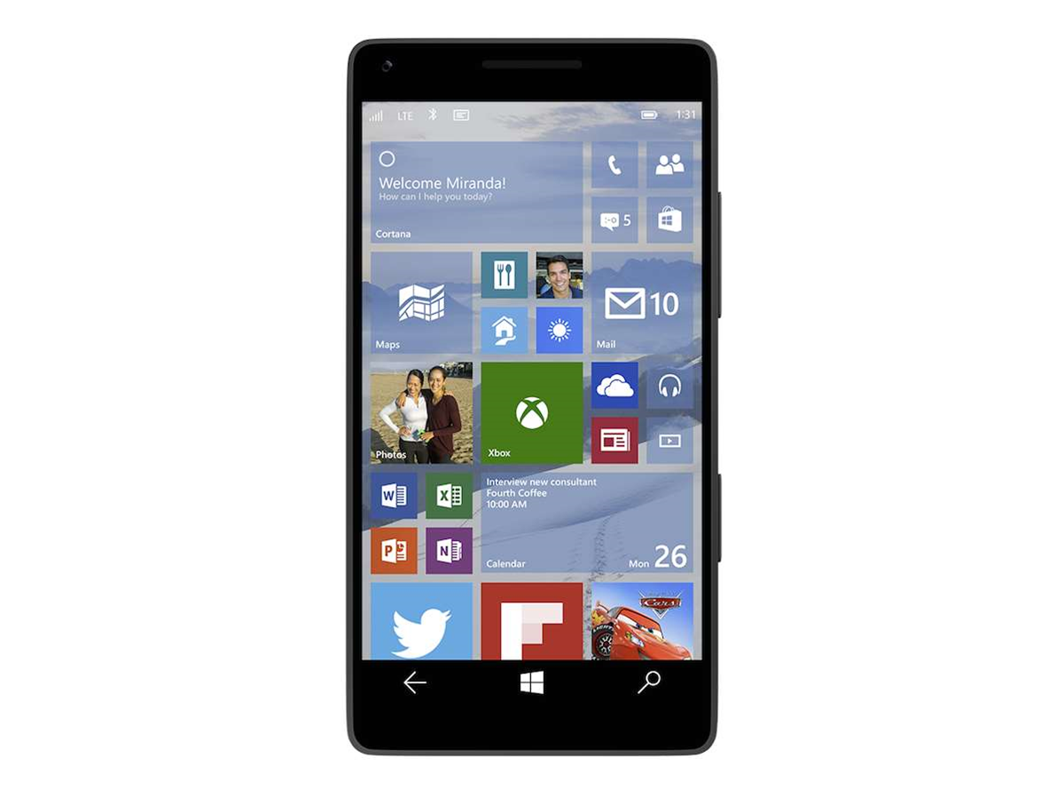 Microsoft can convert Android phones into Windows 10 devices