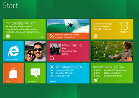 Microsoft unveils Windows 8 consumer preview