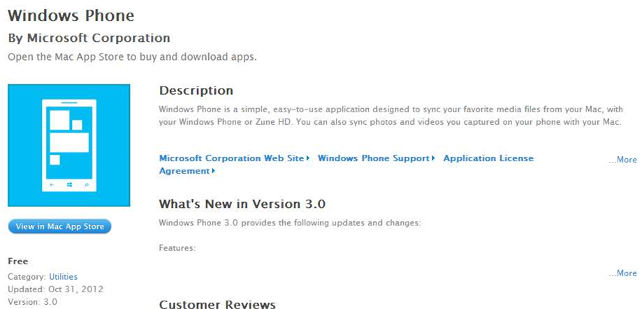 Windows Phone for Mac gains Windows Phone 8 support and more