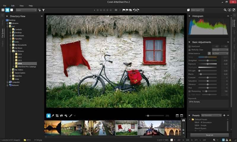 Review: Corel AfterShot Pro 2