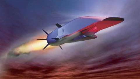 US Air Force working on new scramjet capable of Mach 5