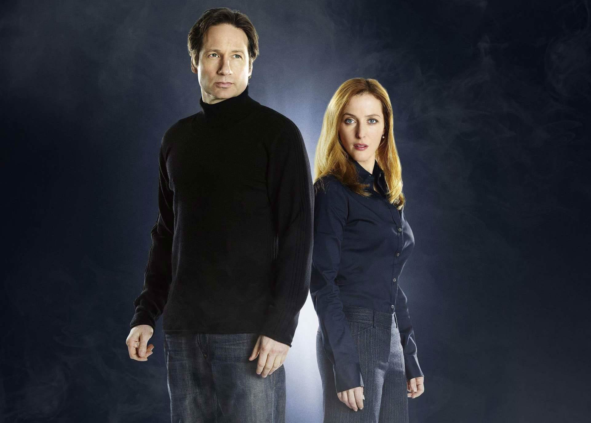 You can watch the first 60 seconds of the new X-Files right now