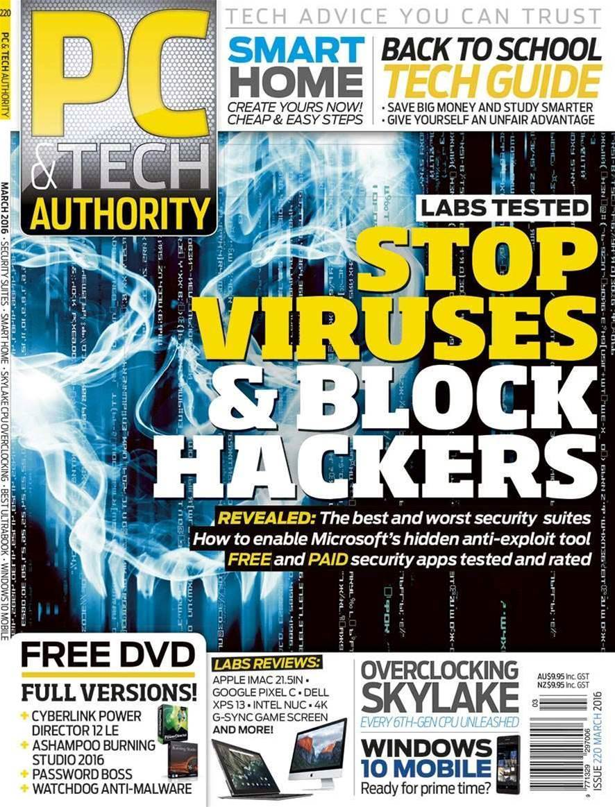 March PC & Tech Authority on sale now