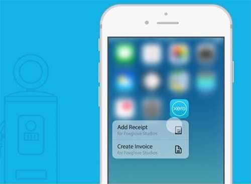 Xero adds 3D Touch to iOS app