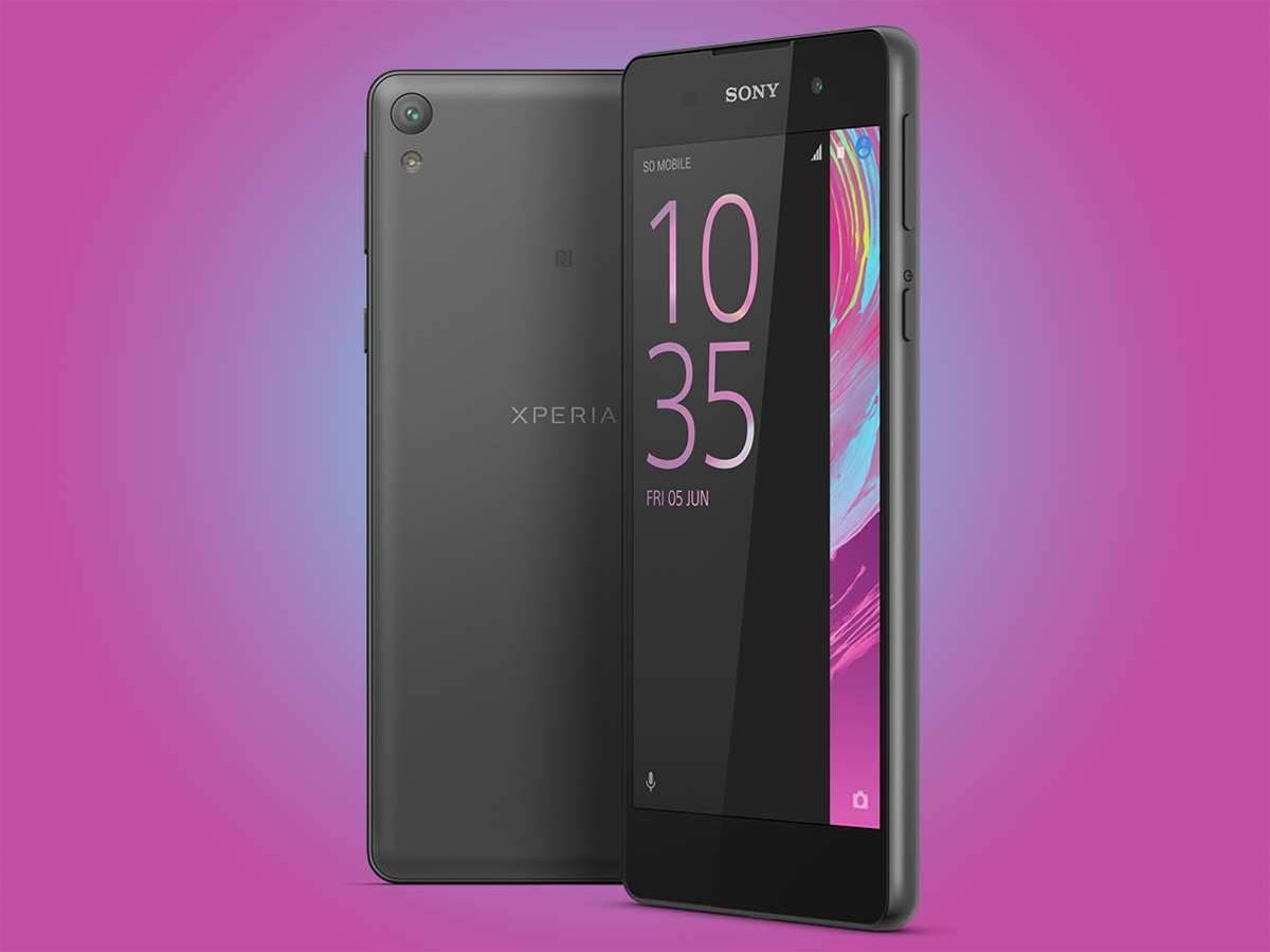 Sony takes aim at the Moto G with mid-range Xperia E5