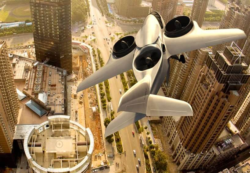 Your Next Plane Could Take Off Vertically