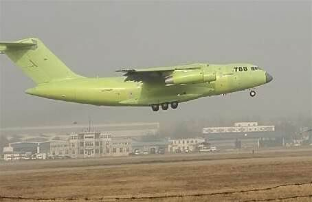 China Builds Power Projection Foundations With New Cargo Plane and Warship