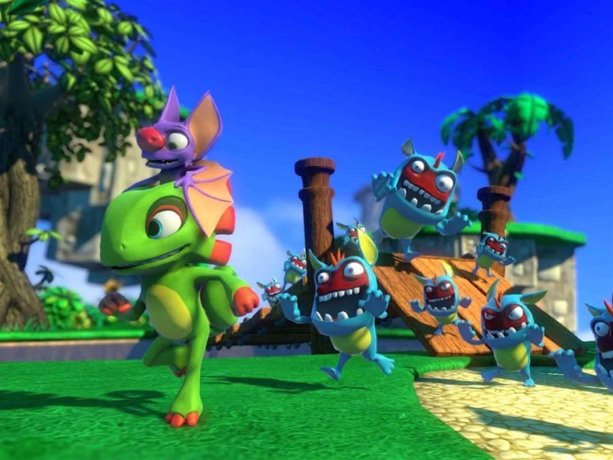 Yooka-Laylee, spiritual successor to Banjo-Kazooie, smashes Kickstarter goal in minutes