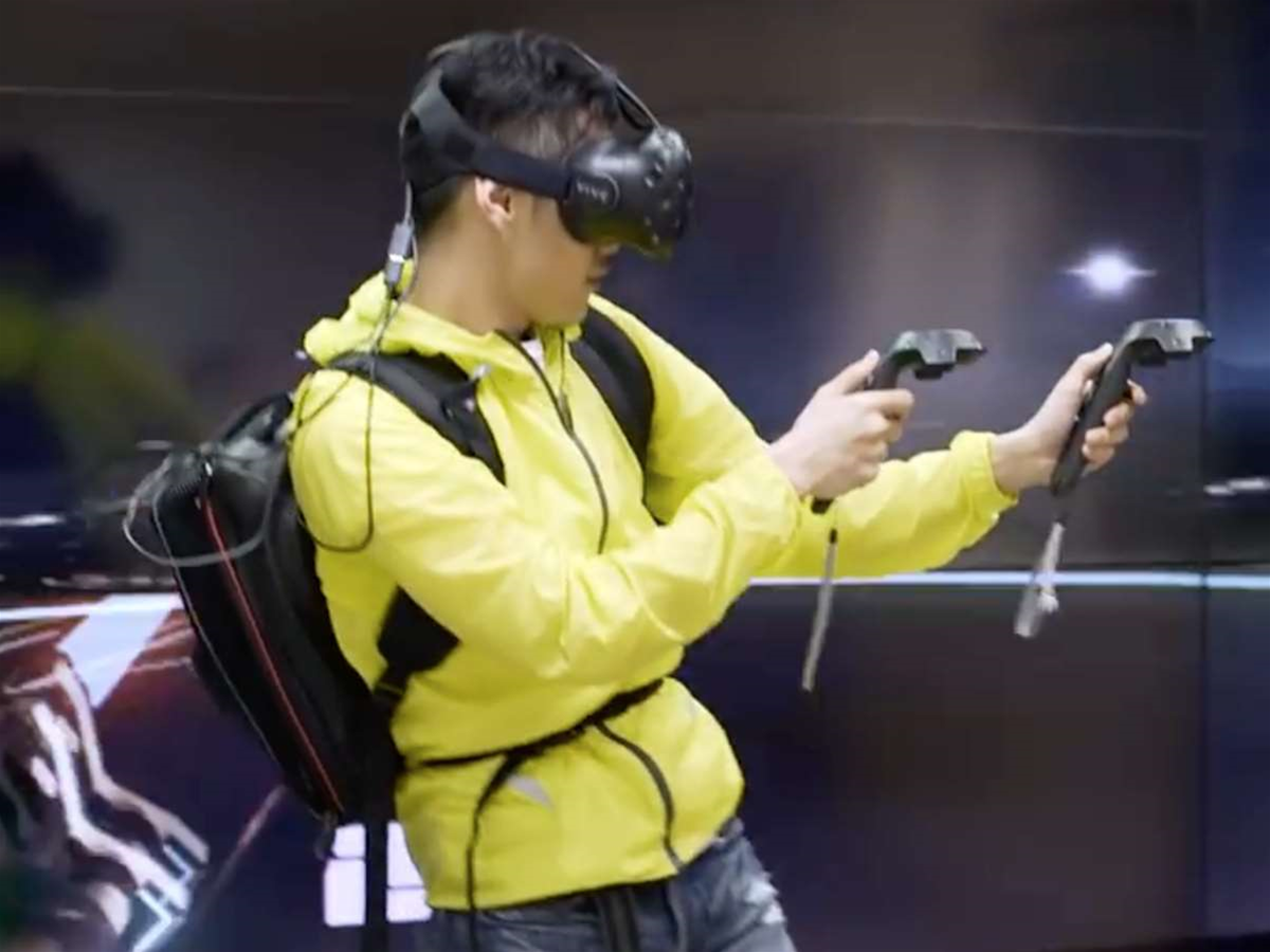 Want to go mobile with the HTC Vive? Strap Zotac's new PC to your back