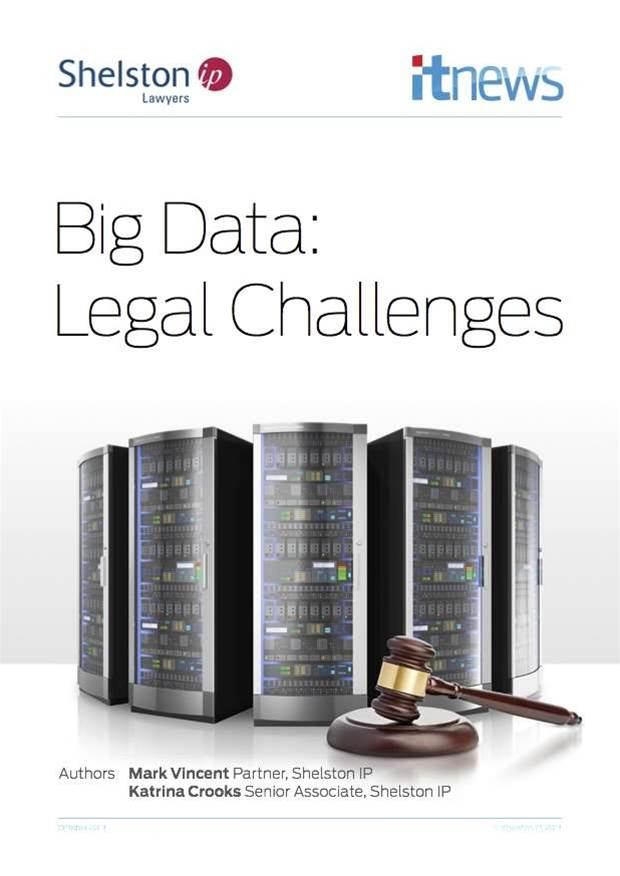 Big data: Legal challenges
