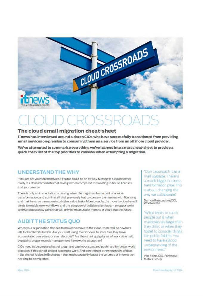 Cloud Crossroads Cheat-Sheet