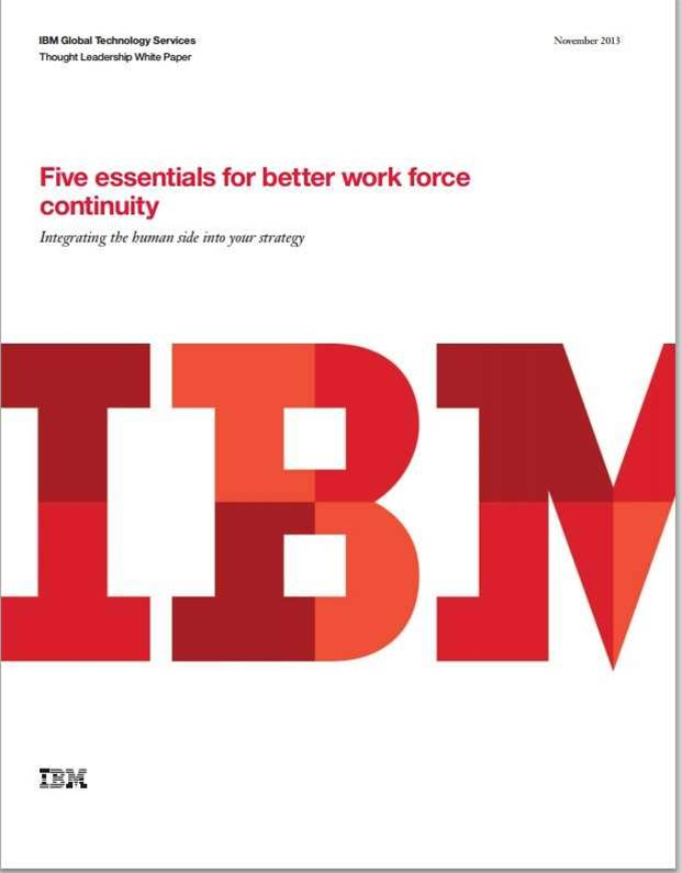 Five essentials for better work force continuity