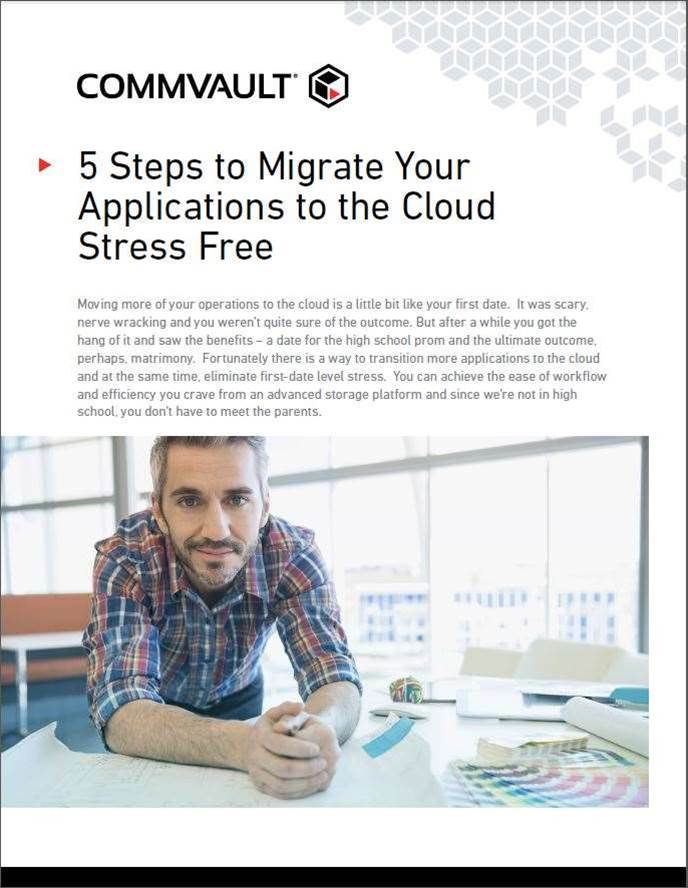 5 Steps to Migrate Your Applications to the Cloud Stress Free
