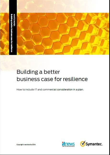 Building a better case for resilience