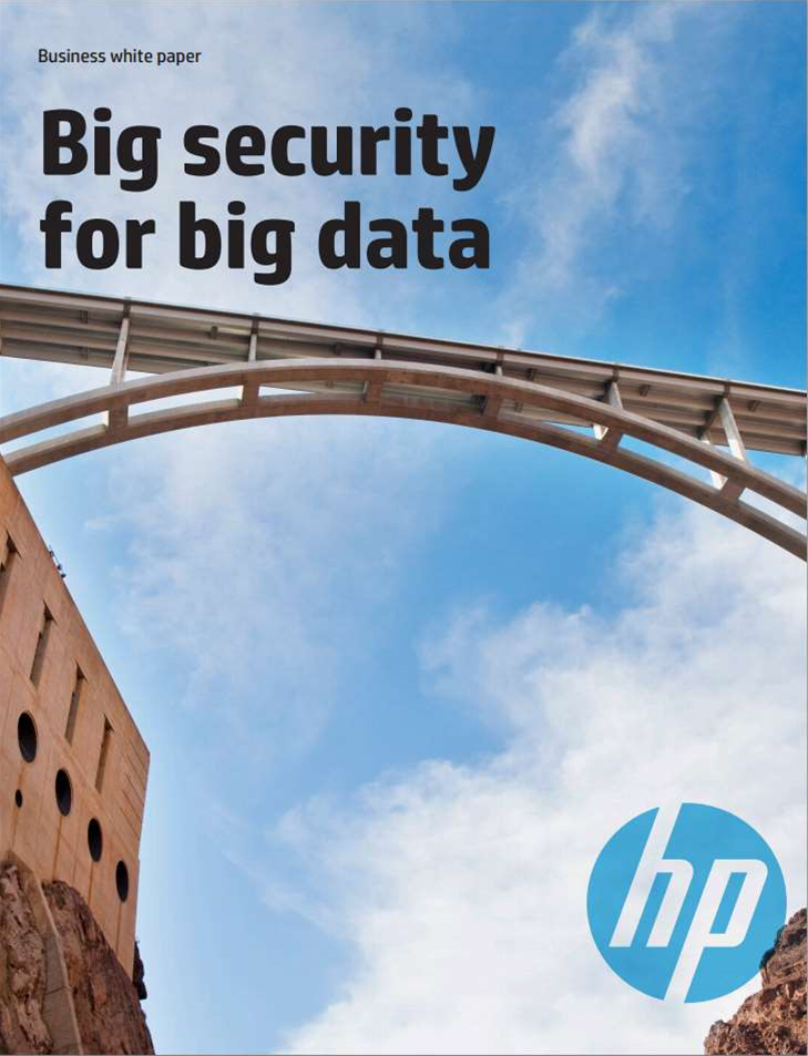 Whitepaper: Big Security for Big Data