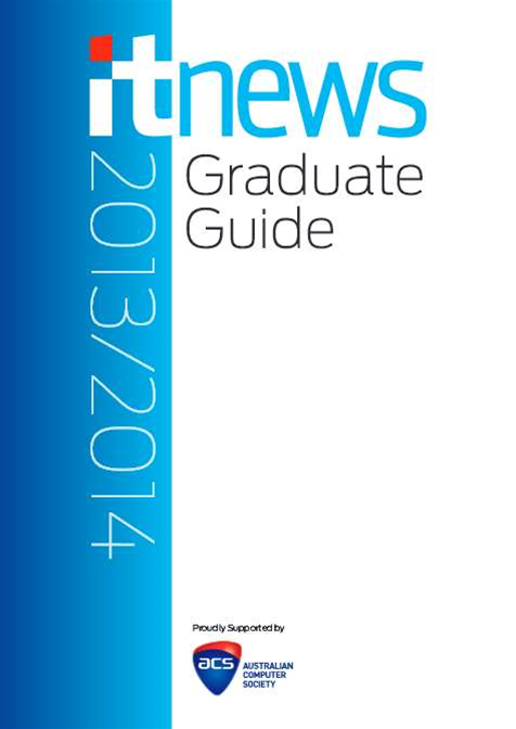 The iTnews IT Grad Guide