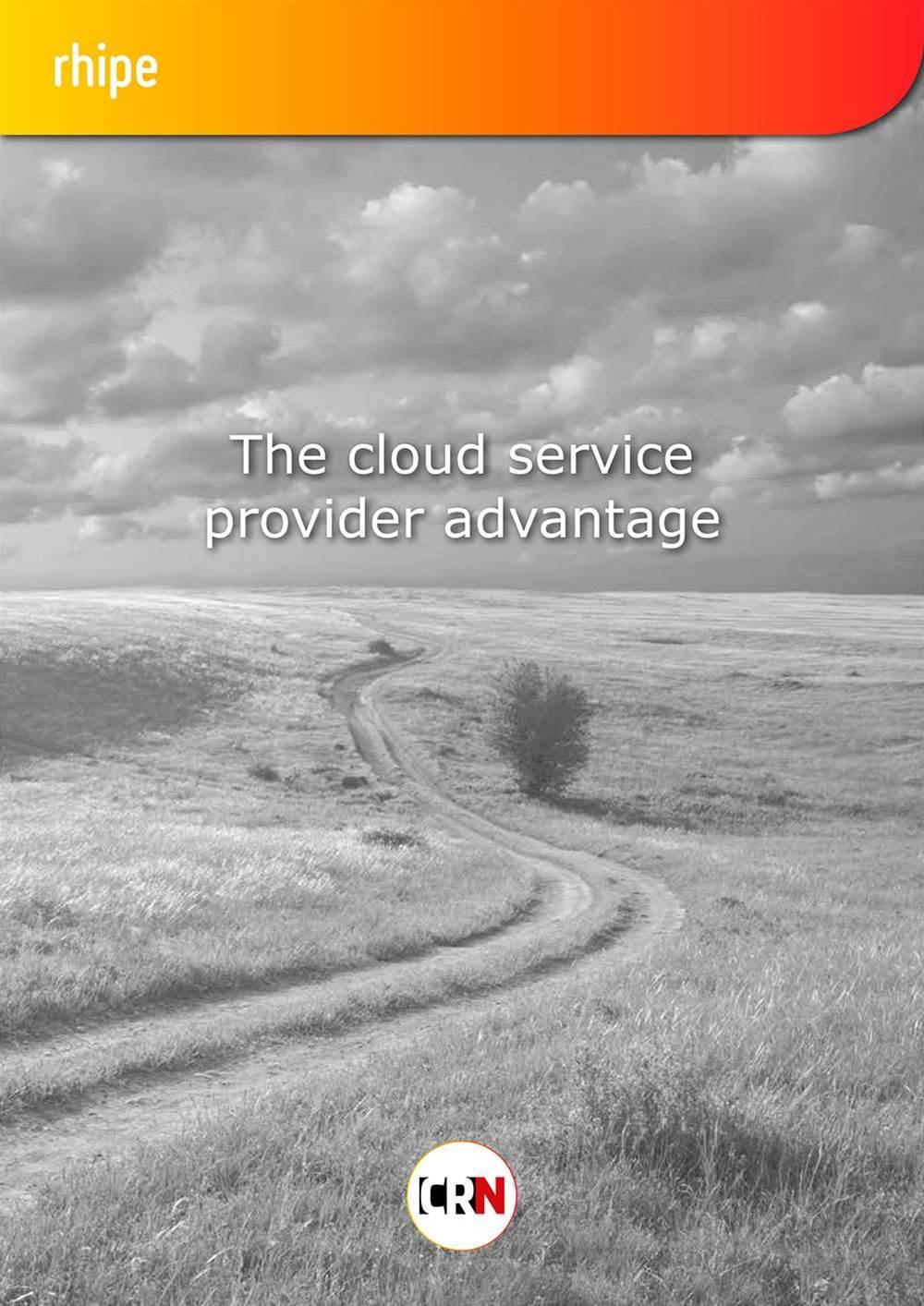 The Cloud Service Provider Advantage