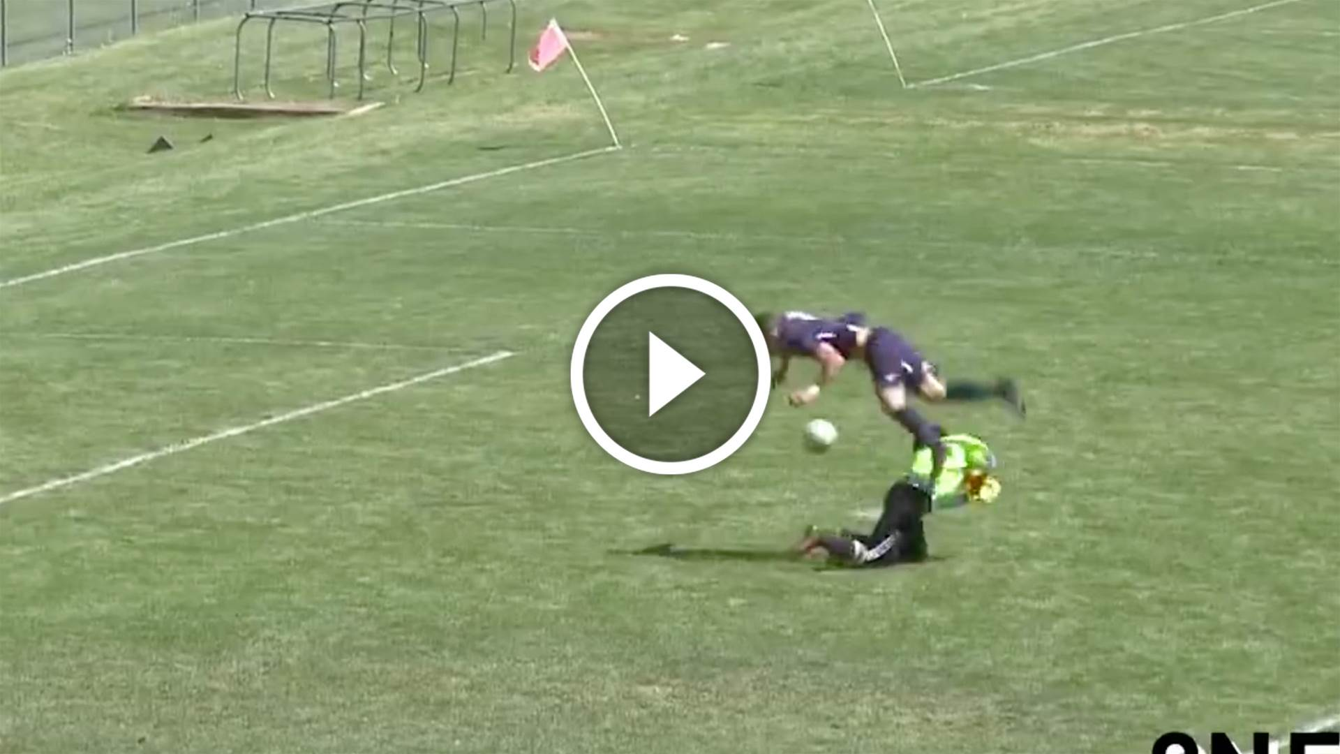 Ref wrecks goal of the year