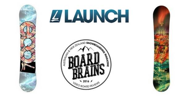 Board Brains: Launch Snowboard 'Eco'
