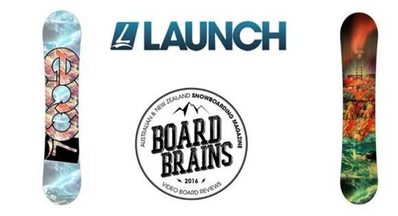 Board Brains: Launch Snowboard 'Eco'