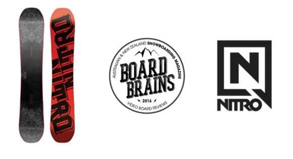 Board Brains: Nitro 'Diablo' Snowboard