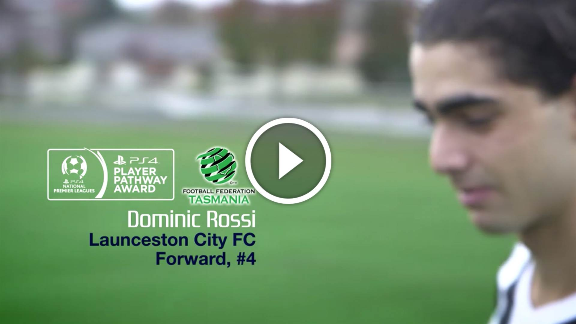 Dominic Rossi plays up